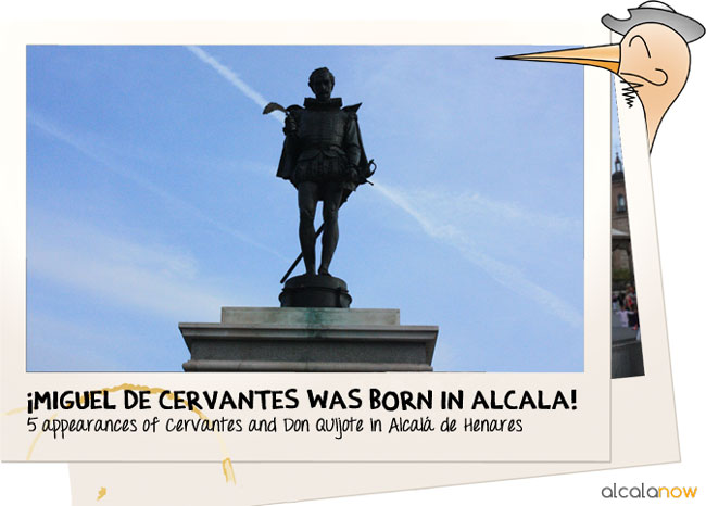 Did you know that Cervantes comes from Alcala de Henares? Cervantes in Alcala