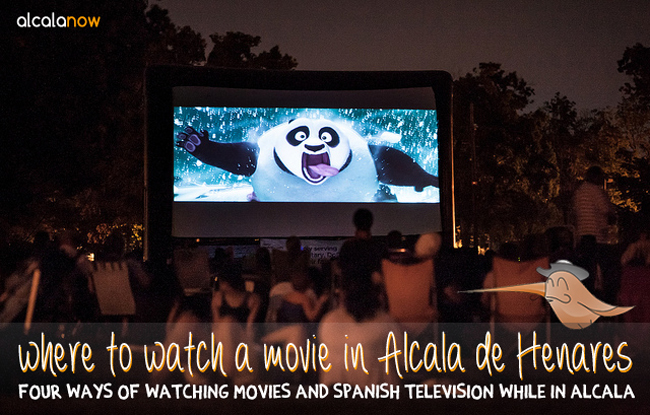 Where to watch movies in Alcala de Henares