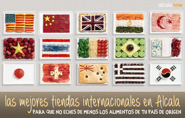 Tiendas internacionales en Alcala