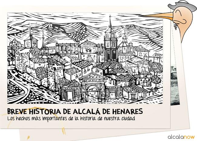 Breve historia de Alcalá de Henares