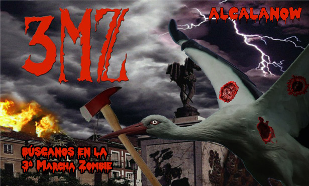 3ª Marcha Zombie en Alcalá de Henares