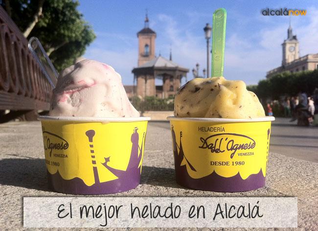 El mejor helado de Alcalá