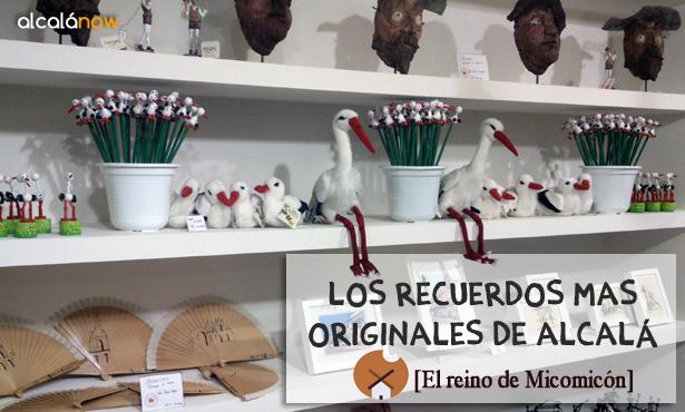 ¿Buscas un recuerdo original de Alcalá? Visita el Reino de Micomicón