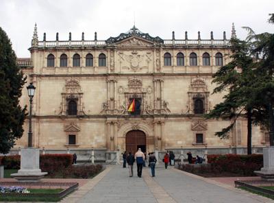 El edificio más representativo de Alcalá