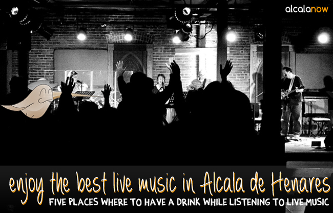 Enjoy the best live music in Alcala de Henares