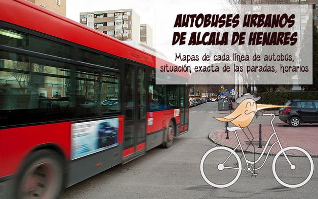 Autobuses urbanos de alcal de henares alcalanow for Autobuses alcala de henares
