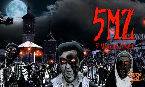 5ª Marcha Zombie Alcalá de Henares 2015